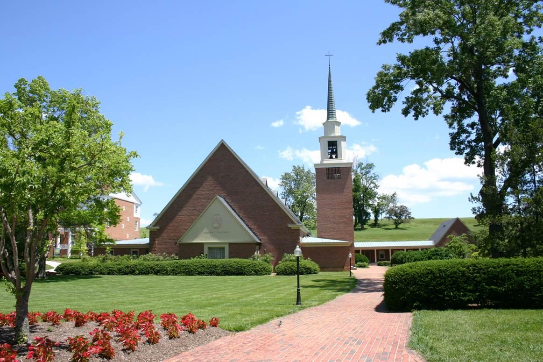 duPont Chapel Exterior Chapel Lawn