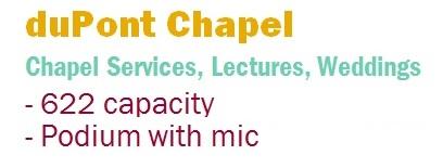 dupont chapel text